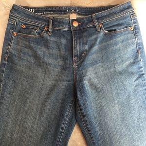 Loft outlet original bootcut jeans